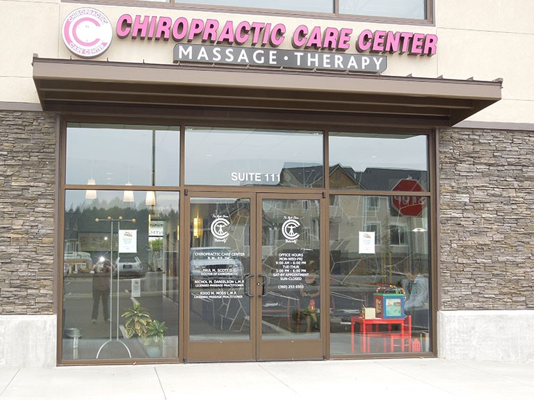 Our Chiropractic office is located near Vancouver, WA